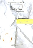 Philippe Crognier - Le sociographe N° 18, Septembre 200 : Histoires d'écrire (1).