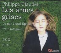Philippe Claudel et Lionel Epaillard - Les âmes grises. 5 CD audio