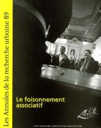 PUCA - Les Annales de la recherche urbaine N° 89, Juin 2001 : Le foisonnement associatif.
