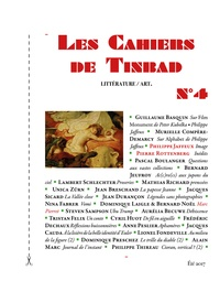Tinbad - Les Cahiers de Tinbad N° 4 : .