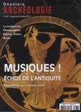 Christophe Vendries - Les Dossiers d'Archéologie N° 383, septembre-oc : Musiques ! - Echos de l'Antiquité.