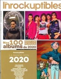 Franck Vergeade et Jean-Marc Lalanne - Les Inrocks Hors-série N°1305 du : Nos 100 albums de 2020. 1 CD audio
