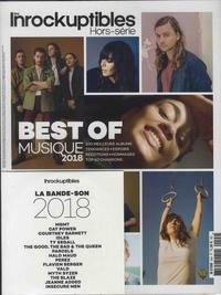 David Doucet et Jean-Marc Lalanne - Les Inrocks Hors-série N° 94 : Best of musique 2018. 1 CD audio