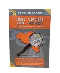 De Rouck Editions - Liège-Verviers et grande banlieue - 1/16 000.