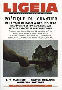 Ligeia - Ligeia N° 101-104, Juillet- : Poétique du chantier.