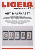 Giovanni Lista - Ligeia N° 153-156, janvier- : Art & alphabet - Abécédaires au fil des arts.