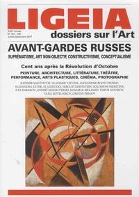 Emanuel Landolt - Ligeia N° 157-160, Juillet- : Avant-gardes russes - Perspectives plurielles.