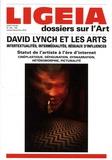 Giovanni Lista - Ligeia N° 165/168, juillet- : David Lynch et les arts - Intertextualités, intermédialités, réseaux d'influences.