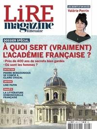 Baptiste Liger et Alexis Brocas - Lire N° 495, avril 2021 : A quoi sert (vraiment) l'Académie française ?.