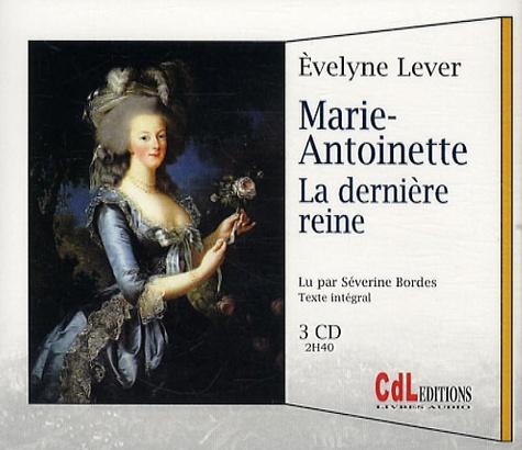 Marie-Antoinette  avec 3 CD audio