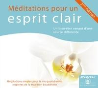 Kelsang Dènyi - Méditations pour un esprit clair. 1 CD audio