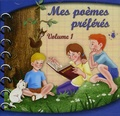 France-productions - Mes poèmes préférés - Tome 1, CD audio.