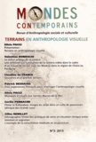 Jean-Yves Boursier - Mondes contemporains N° 3, 2e semestre 20 : Terrains en anthropologie visuelle.