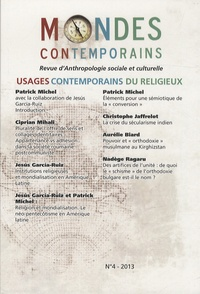 Jean-Yves Boursier - Mondes contemporains N° 4, 2e semestre 20 : Usages contemporains du religieux.
