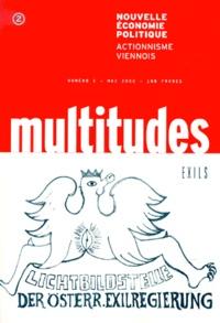 Collectif - Multitudes N° 2, Mai 2000 : Nouvelle économie politique - Actionnisme viennois.