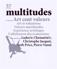 Thierry Baudouin - Multitudes N° 57, hiver 2014 : Art cent valeurs.