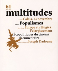 Thierry Baudouin - Multitudes N° 61, hiver 2015 : .