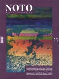 Alexandre Curnier - Noto N° 11, octobre 2018 : .