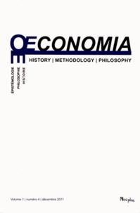 Jean-Sébastien Lenfant - Oeconomia Volume 1 N° 4, Décem : .
