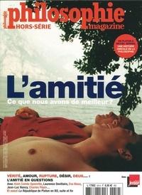 Philo Editions - Philosophie Magazine Hors-série N° 50, ao : L'amitié.