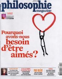 Martin Legros et Michel Eltchaninoff - Philosophie Magazine N° 121, juillet-août : Pourquoi avons-nous besoin d'être aimés ?.