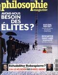 Martin Legros et Michel Eltchaninoff - Philosophie Magazine N° 124, novembre 201 : Avons-nous besoin des élites ?.