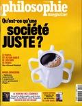 Martin Legros et Michel Eltchaninoff - Philosophie Magazine N°128, avril 2019 : Qu'est ce qu'une société juste ?.