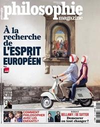 Martin Legros et Michel Eltchaninoff - Philosophie Magazine N° 129, mai 2019 : A la recherche de l'esprit européen.