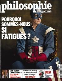 Sven Ortoli - Philosophie Magazine N° 134, novembre 201 : Pourquoi sommes-nous si fatigués ?.