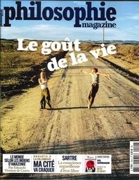 Martin Legros et Michel Eltchaninoff - Philosophie Magazine N° 140, juillet 2020 : Le goût de la vie.