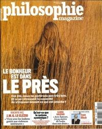Martin Legros et Michel Eltchaninoff - Philosophie Magazine N° 141, août 2020 : Le bonheur est dans le près.