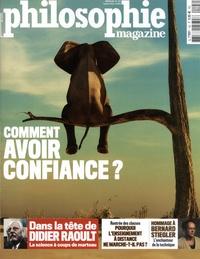 Alexandre Lacroix et Michel Eltchaninoff - Philosophie Magazine N° 142, septembre 20 : Comment avoir confiance ?.