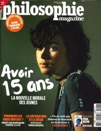 Martin Legros et Michel Eltchaninoff - Philosophie Magazine N° 148, avril 2021 : Avoir 15 ans - La nouvelle morale des jeunes.