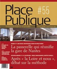 Franck Renaud - Place Publique Nantes/Saint-Nazaire N° 55, janvier-févri : La passerelle qui réunifie la gare de Nantes.