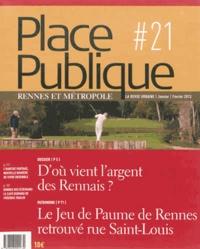 Georges Guitton - Place Publique Rennes N° 21, janvier-févri : D'où vient l'argent des Rennais ?.