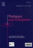 Jean-Luc Bernaud - Pratiques psychologiques Volume 14 N° 3, Sept : L'accompagnement psychologique - 2e partie.