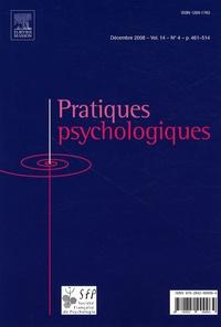 Magali Molinié - Pratiques psychologiques Volume 14 N° 4, Déce : .