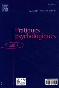 Mourad Merdaci - Pratiques psychologiques Volume 15 N° 3, Sept : .
