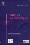 Karine Weiss - Pratiques psychologiques Volume 17 N° 1, Mars : Psychologie environnementale.