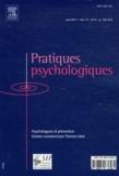 Thomas Saïas - Pratiques psychologiques Volume 17 n° 2 : .