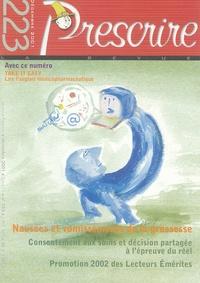 Association Mieux prescrire - Prescrire N° 223, Décembre 200 : Avec supplément Take it easy - Lire l'anglais médicopharmaceutique.