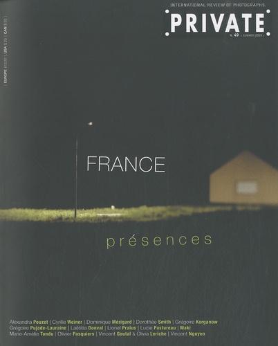 Oriano Sportelli - Private N° 49, Summer 2010 : France présences.