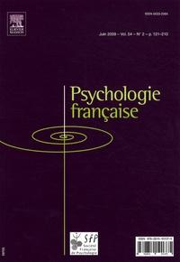 Guy Denhière - Psychologie française Volume 54 N° 2, Juin : .