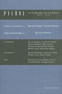 Bernard Stiegler et Bernard Wallet - Pylône N° 4, Eté 2005 : .