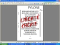 Bernard-Henri Lévy et Jean-Paul Enthoven - Pylône N° 7 : Liberté chérie. 1 CD audio