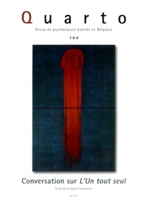 Philippe Stasse - Quarto N° 104 : Conversation sur l'un tout seul.