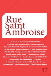Bernardo Toro - Rue Saint Ambroise N° 37 : .