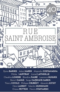 Bernardo Toro - Rue Saint Ambroise N° 40 : .