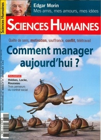 Sciences humaines - Sciences Humaines N° 319, novembre 201 : Comment manager aujourd'hui ?.