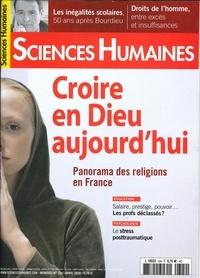 Hélène Frouard - Sciences Humaines N° 324, avril 2020 : Croire en Dieu aujourd'hui.
